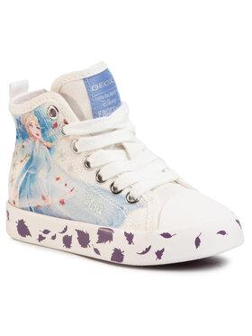 Geox Geox Sneakers aus Stoff J Ciak G. F J0204F 000AW C0653 M Weiß