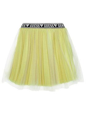 Guess Guess Φούστα K0YD01 K9WV0 Κίτρινο Regular Fit