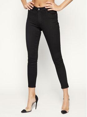 Wrangler Wrangler Jeansy Skinny Fit Body Bespoke W28KLX023 Czarny Skinny Fit