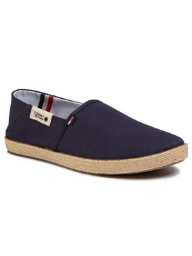 Tommy Jeans Tommy Jeans Espadrile Summer Shoe EM0EM00423 Bleumarin
