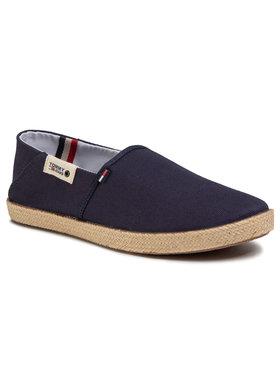 Tommy Jeans Tommy Jeans Espadrilky Summer Shoe EM0EM00423 Tmavomodrá