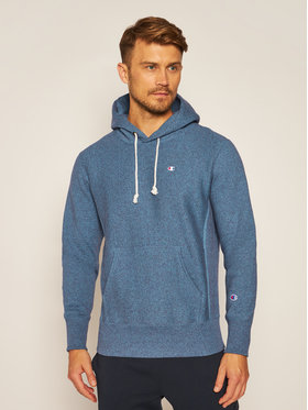 Champion Champion Sweatshirt Jaspé C Logo 214941 Blau Custom Fit