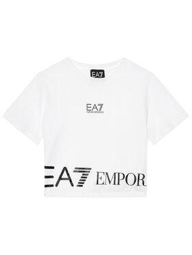 EA7 Emporio Armani EA7 Emporio Armani T-shirt 3KFT52 FJ7CZ 1100 Bijela Regular Fit