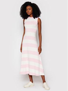 Polo Ralph Lauren Polo Ralph Lauren Každodenné šaty Ssl 211838121001 Ružová Regular Fit