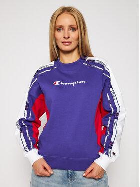 Champion Champion Pulóver Crewneck 113339 Lila Custom Fit
