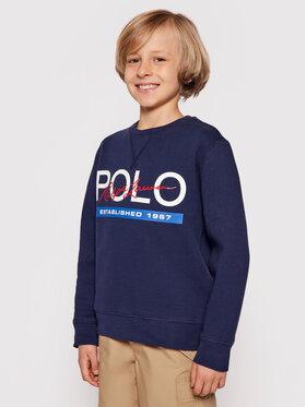 Polo Ralph Lauren Polo Ralph Lauren Bluză Spring II 323800659 Bleumarin Regular Fit