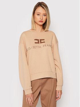 Elisabetta Franchi Elisabetta Franchi Sweatshirt MD-001-16E2-V180 Beige Regular Fit