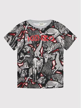 Kenzo Kids Kenzo Kids T-Shirt K25185 Szary Regular Fit