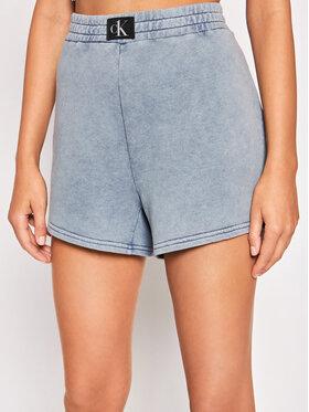 Calvin Klein Swimwear Calvin Klein Swimwear Pantaloni scurți sport KW0KW01549 Albastru Regular Fit