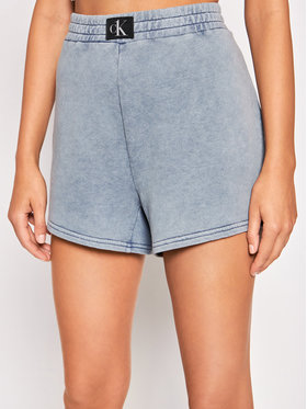 Calvin Klein Swimwear Calvin Klein Swimwear Sportovní kraťasy KW0KW01549 Modrá Regular Fit