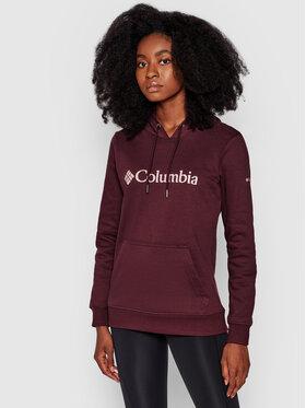 Columbia Columbia Bluza Logo 1895751 Fioletowy Regular Fit