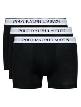 Polo Ralph Lauren Polo Ralph Lauren Komplektas: 3 poros trumpikių 3PK 714830299008 Juoda