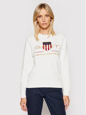 Gant Gant Sweatshirt Archive Shield 4204688 Blanc Regular Fit