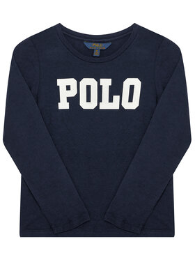 Polo Ralph Lauren Polo Ralph Lauren Блуза Ls Polo Tee 312759123004 Тъмносин Regular Fit