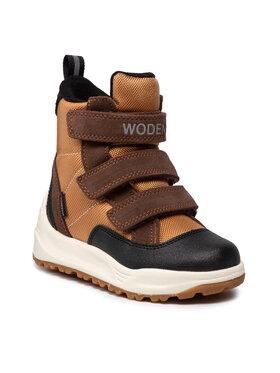 Woden Woden Апрески Adrian Boot Kids WW9050-610 Кафяв