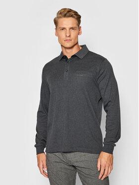 Pierre Cardin Pierre Cardin Тениска с яка и копчета 53604/000/12315 Сив Regular Fit