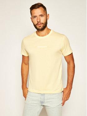 Calvin Klein Jeans Calvin Klein Jeans T-Shirt Instit J30J315186 Żółty Regular Fit