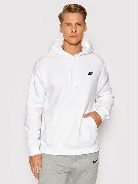 Nike Nike Bluză Sportswear Club Fleece BV2854 Alb Standard Fit
