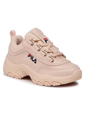 Fila Fila Sneakersy Strada F Low Jr 1010933.70D Růžová