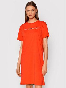 Tommy Hilfiger Tommy Hilfiger Ежедневна рокля UW0UW01639 Оранжев Regular Fit