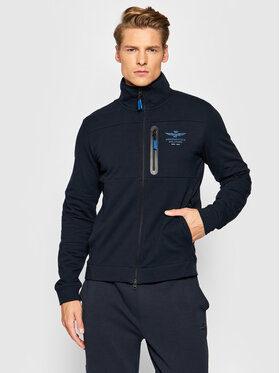 Aeronautica Militare Aeronautica Militare Sweatshirt 212FE1629F436 Bleu marine Regular Fit
