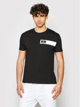 Alpha Industries Alpha Industries T-shirt Reflective Stripes 198510 Noir Regular Fit