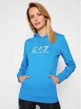 EA7 Emporio Armani EA7 Emporio Armani Mikina 8NTM40 TJ31Z 1523 Modrá Regular Fit