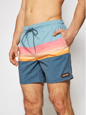 Rip Curl Rip Curl Plavecké šortky Layered Volley CBONM4 Barevná Regular Fit