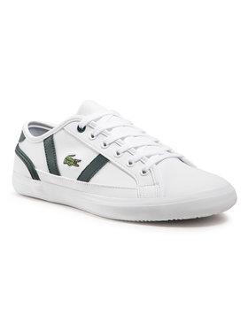 Lacoste Lacoste Sneakers Sideline 0721 1 Cuj 7-41CUJ00151R5 Alb