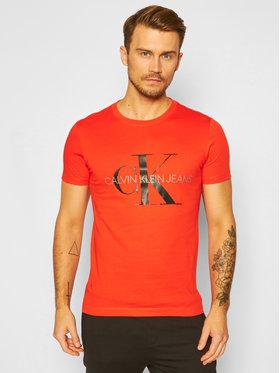 Calvin Klein Jeans Calvin Klein Jeans Póló J30J314551 Narancssárga Regular Fit