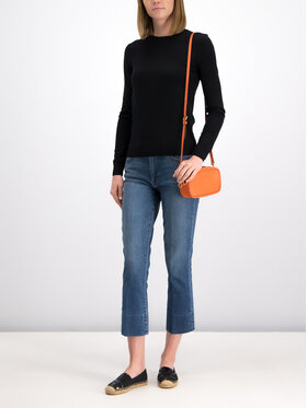 Tory Burch Tory Burch Jeansy 57707 Granatowy Regular Fit