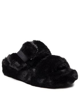 Skechers Skechers Тапочки Cozy Wedge 167238/BBK Чорний