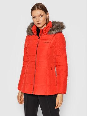 Calvin Klein Calvin Klein Пухено яке Essential K20K203129 Червен Regular Fit