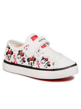 Geox Geox Sneakers aus Stoff J Ciak G. J J9204J 000AN C0085 M Weiß