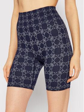 Guess Guess Pantaloni scurți sport O1BA90 ZZ04N Bleumarin Slim Fit