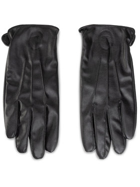 Trussardi Jeans Trussardi Jeans Guanti da uomo Gloves Logo 57Z00201 Nero