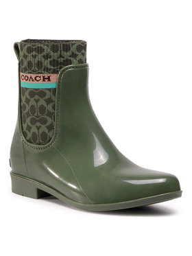 Coach Coach Гумени ботуши Rivington Rain Booti G5254 10011291 Зелен