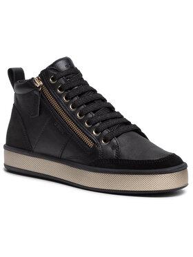 Geox Geox Sneakersy D Leelu' G D94FFG 08522 C9997 Čierna