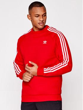 adidas adidas Pulóver GN3484czer Piros Regular Fit