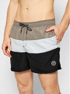 Jack&Jones Jack&Jones Plavecké šortky Bali 12183825 Šedá Regular Fit