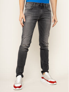 Pepe Jeans Pepe Jeans Jeansy Slim Fit Stanley PM201705 Szary Slim Fit