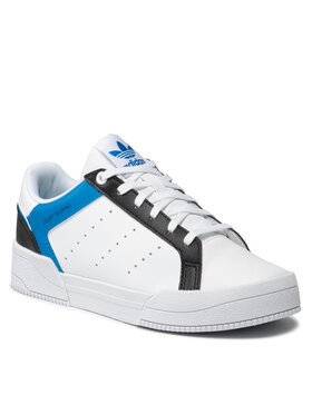 adidas adidas Pantofi Court Tourino H00768 Alb