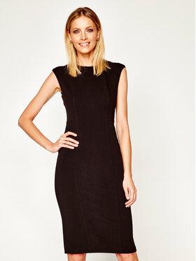 DKNY DKNY Koktejlové šaty DD0A1038 Černá Slim Fit