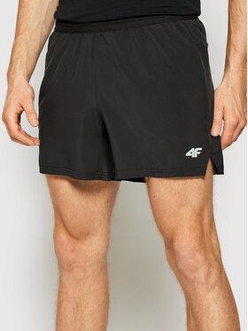 4F 4F Pantaloni scurți sport H4L21-SKMF011 Negru Regular Fit