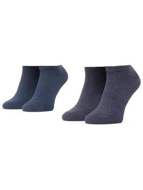 Levi's® Levi's® Комплект 2 чифта къси чорапи унисекс 37157-0195 Тъмносин