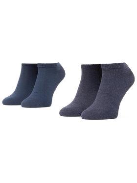 Levi's® Levi's® Súprava 2 párov kotníkových ponožiek unisex 37157-0195 Tmavomodrá