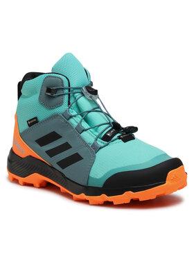 adidas adidas Обувки Terrex Mid Gtx K GORE-TEX FX4167 Зелен
