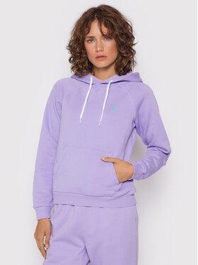 Polo Ralph Lauren Polo Ralph Lauren Sweatshirt 211794394015 Violet Regular Fit