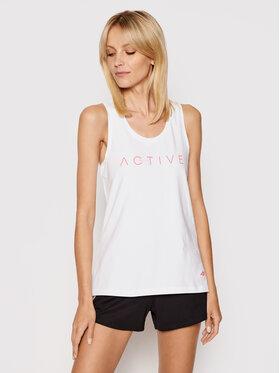 4F 4F Marškinėliai H4L21-TSD024 Balta Regular Fit