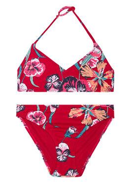 Roxy Roxy Strój kąpielowy Little Wanderer ERGX203273 Czerwony